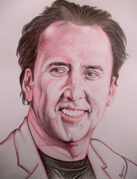Nicolas Cage by abhik